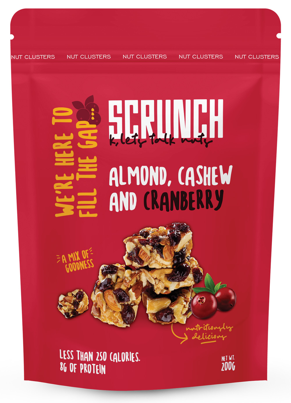Almond, Cashew And Cranberry Clusters 1 slide