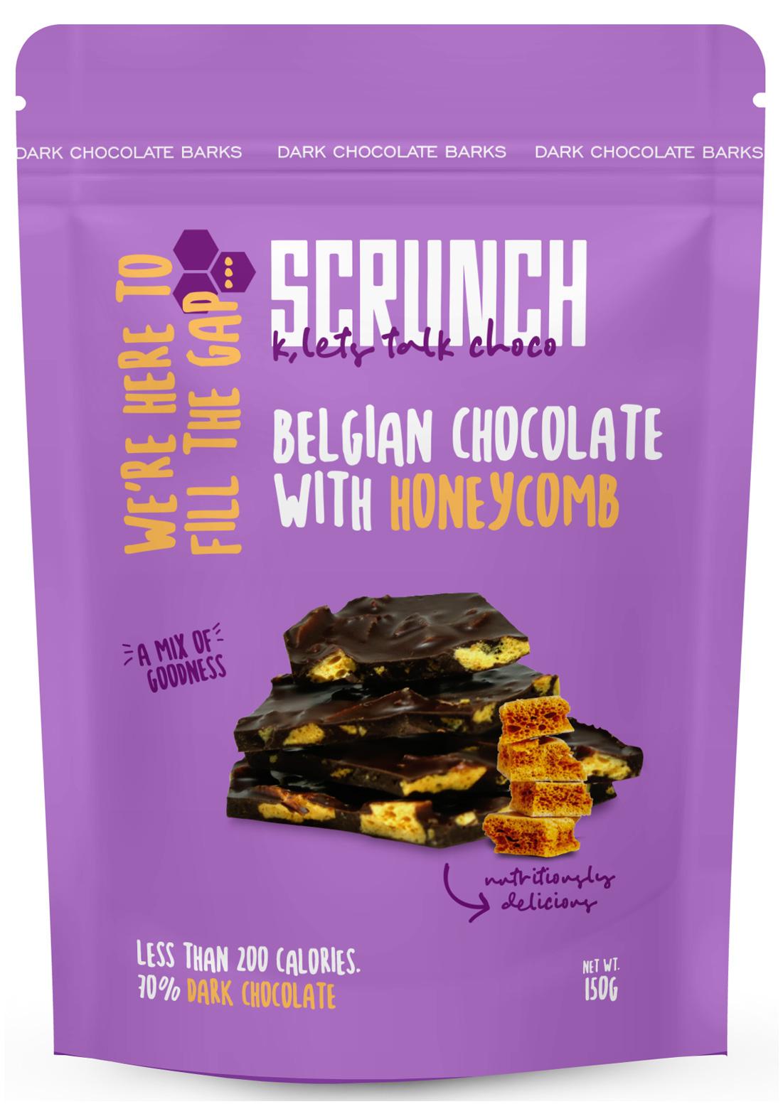 Belgian Dark Chocolate Barks with Honeycomb 191 slide