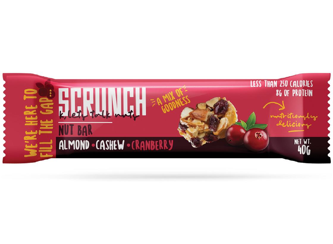 Almond , Cashew And Cranberry Bar 15 slide